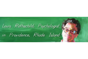 Louis Rothschild, PhD Dr. Rothschild is a psychiatrist in Providence Rhode Island.